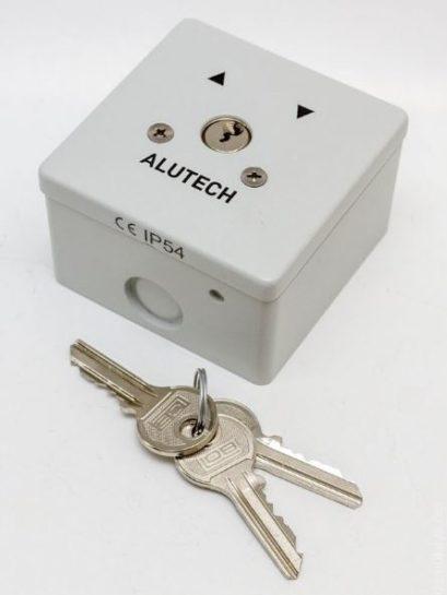 ovládání na klíč